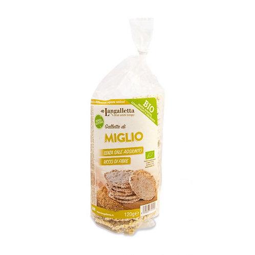 Millet Cakes 120g Langalletta D'Alba