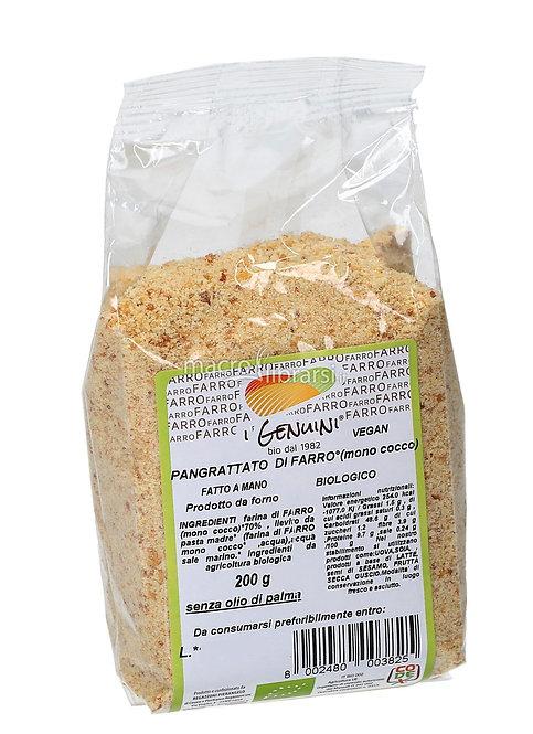 Spelt Breadcrumbs 200g I Genuini