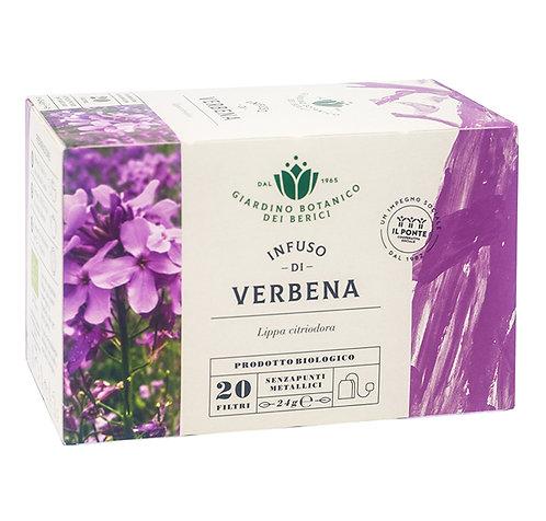 Infusion of Verbena Tea in Filters 24g Berici-Infusi