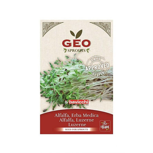 Alfalfa Seeds for Sprouting 30g Geo