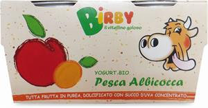 Yoghurt Peach Apricot With Bifidobacterium 115gx2
