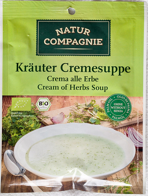 Cream of Herbs Soup 40g Natur Compagnie