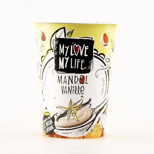 My Love My Life Almond Vanilla Yogurt Dairy Free 180g