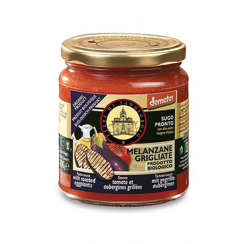 Tomato Sauce with Roasted Eggplants 300g