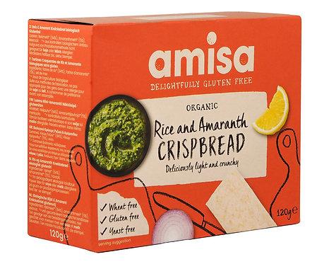 Gluten-Free Rice & Amaranth Crispbread 120g