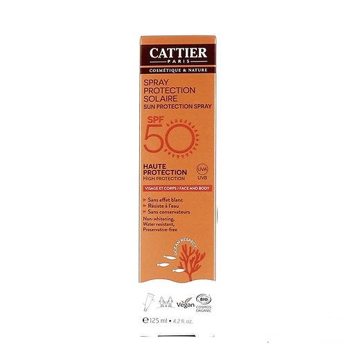 Sun Protection Spray SPF50 125ml Cattier