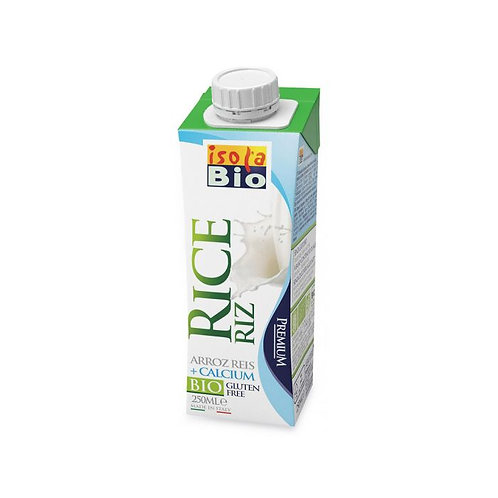 Rice Drink with Calcium Isola Bio 250ml