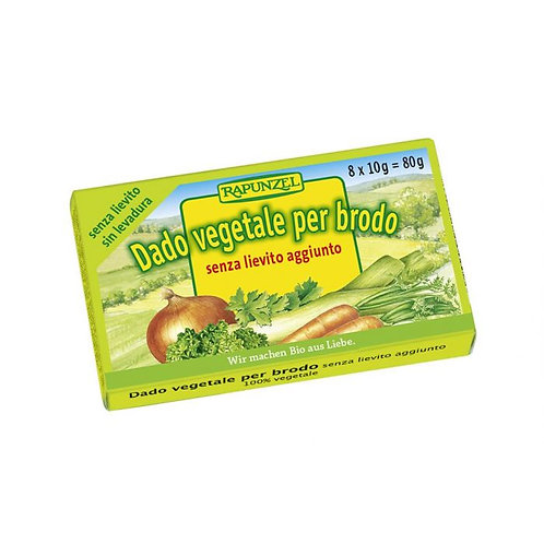 Vegetable Stock Cubes without added Yeast 80g