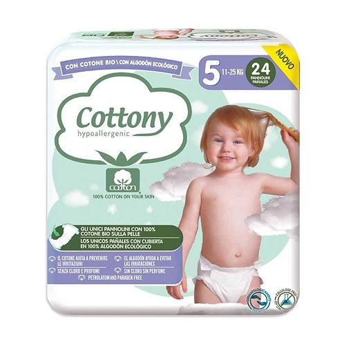 Cotton Diapers No.5 11-25kg x24