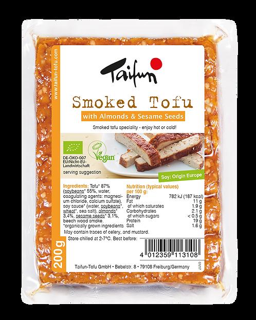 Smoked Tofu with Almond & Sesame Seeds 200g