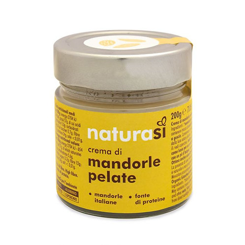 Peeled Almond Butter 200g NaturaSi