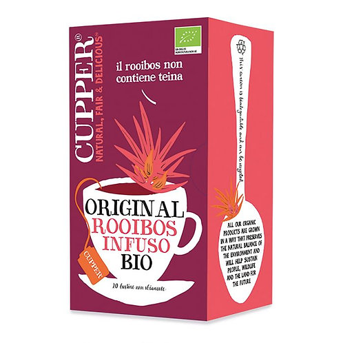 Rooibos Infusion in Bags 40g Cupper