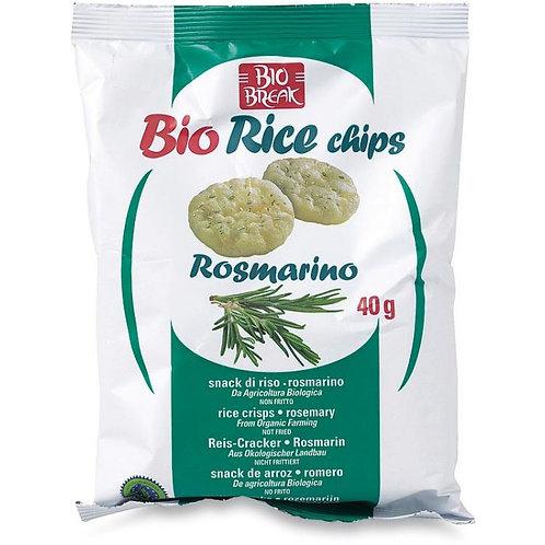 Rice Cakes with Rosemary 40g Bio Break