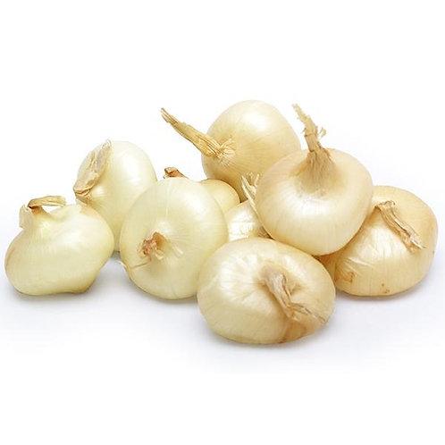 Onions White - Fresh, Flat Per Kg
