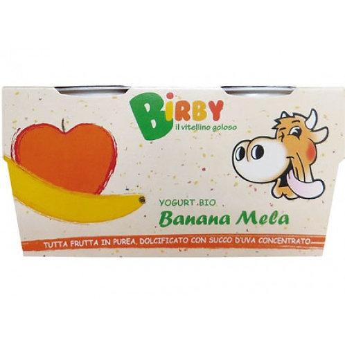 Yoghurt Birby with Banana & Apple 115g x 2