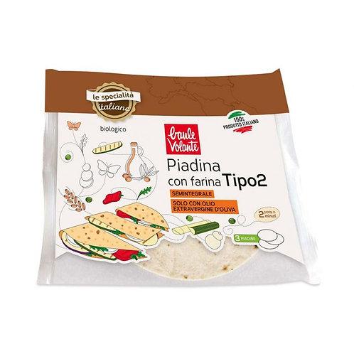 "Wheat Flour ""Type 2"" Wrap Baule Volante 240g"