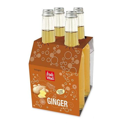 Ginger Sparkling Soft-Drink 4x275ml Baule Volante