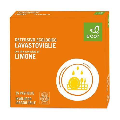 Dishwasher Tablets with Lemon Essential Oil 500g Ecor