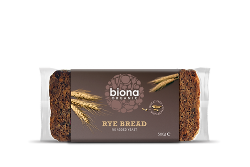Rye Bread Biona 500g