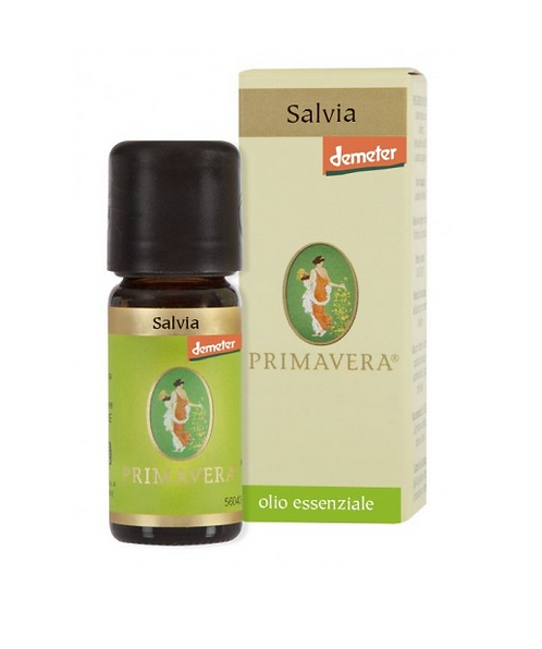 Sage Essential Oil 10ml Primavera