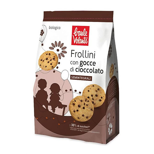 Semi-Wholemeal Wheat Biscuits with Chocolate Chips 300g