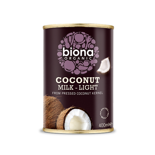 Coconut Milk Light Biona 400ml