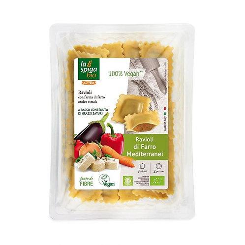Spelt Ravioli with Vegetables & Tofu Filling 250g
