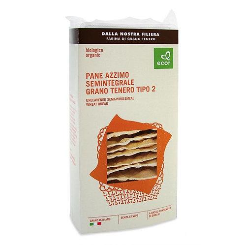 Semi-Wholemeal Wheat Unleavened Bread 125g Ecor