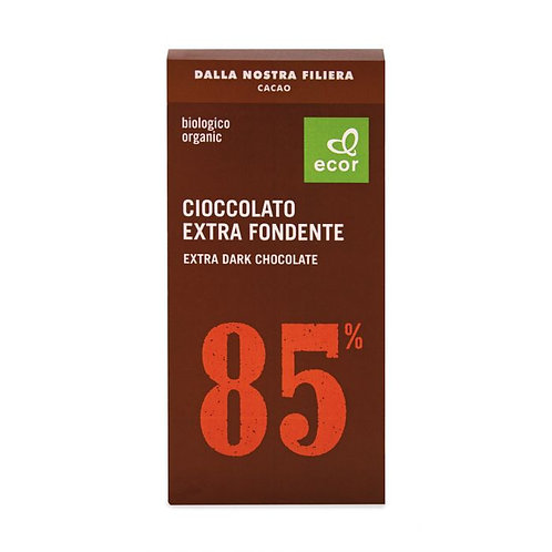 85% Extra Dark Chocolate 80g Ecor