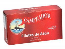 Tuna Fillets in Brine 120g Campeador