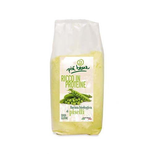 Gluten-Free Hulled Green Pea Flour 350g