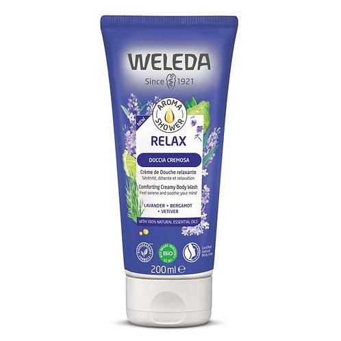 Comforting Creamy Body Wash Lavander, Bergamot & Vetiver 200ml Weleda
