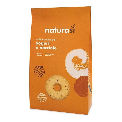 Semi-Wholemeal Biscuits with Yogurt & Hazelnuts 350g