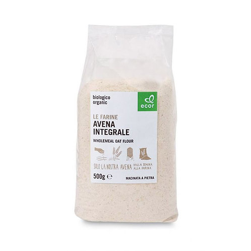 Wholemeal Oat Flour Ecor 500g