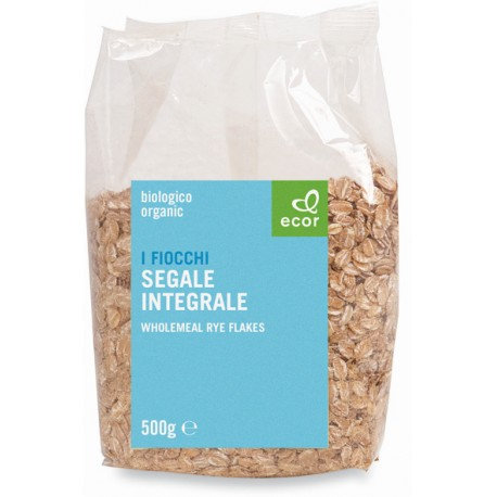 Wholemeal Rye Flakes 500g