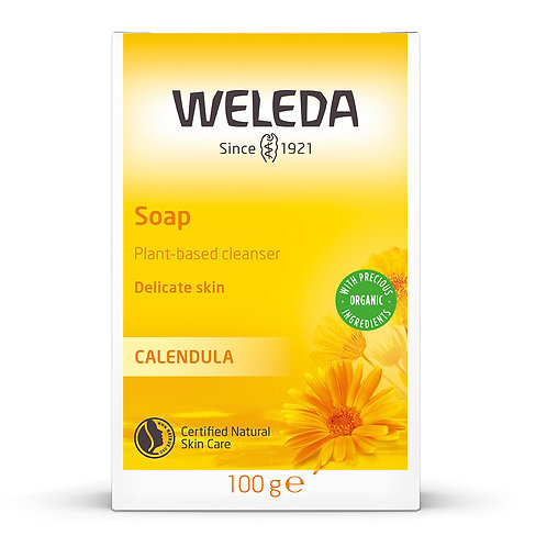 Calendula Vegetable Oil-Based Soap 100g