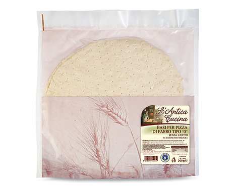 Spelt Pizza Base Without Yeast 300g