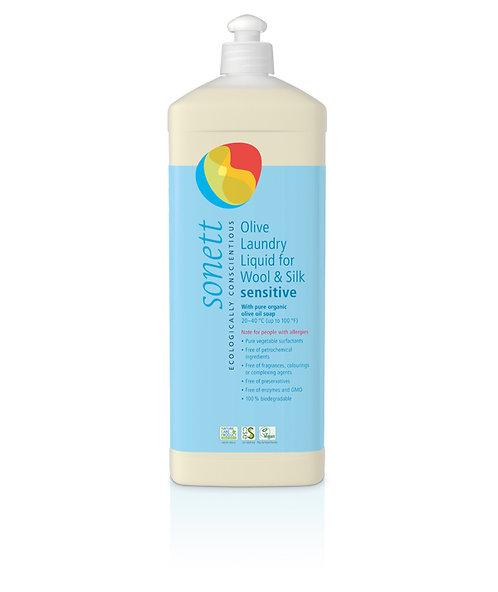 Olive Laundry Detergent for Wool & Silk - Sensitive 1L Sonett