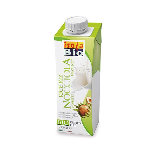 Rice Drink with Hazelnut Isola Bio 250ml