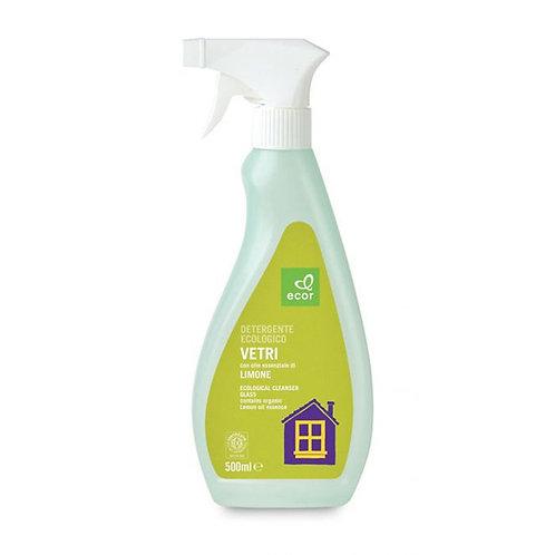Detergent Spray for Glass Lemon 500ml Ecor