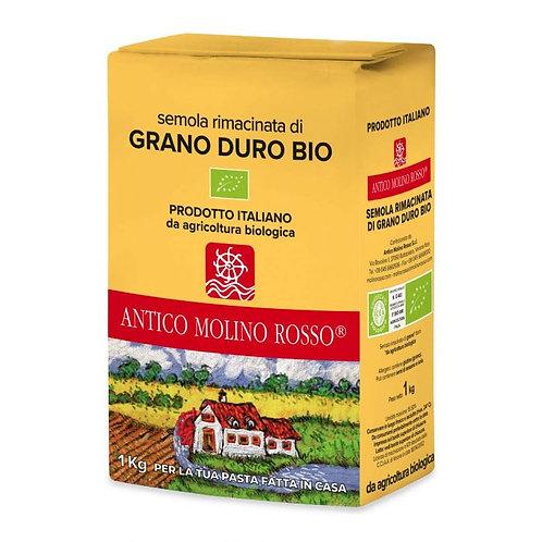Remilled Durum Wheat Semolina 1kg
