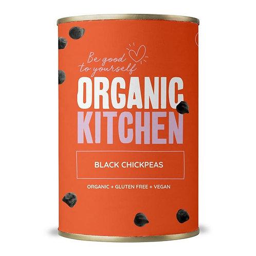 Black Chickpeas 400g Organic Kitchen