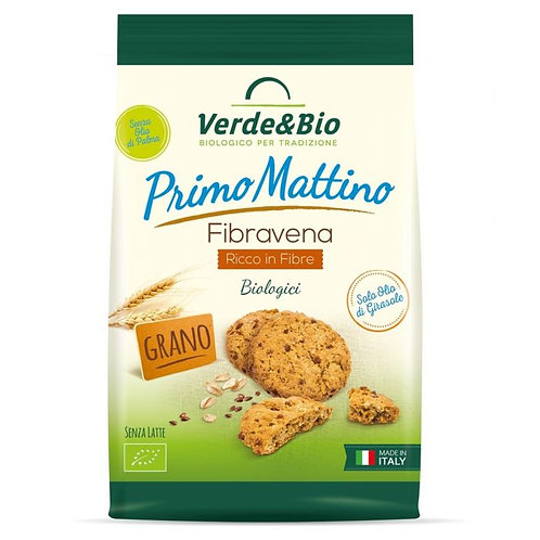 Wholemeal Wheat Shortbread Biscuits with Oats 250g Verde & Bio