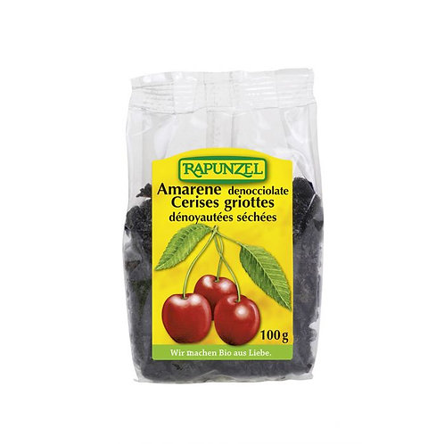 Dried Pitted Sour Cherries Rapunzel 100g