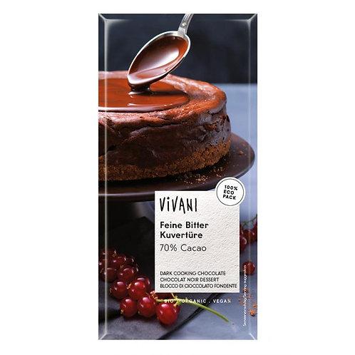 70% Dark Cooking Chocolate 200g