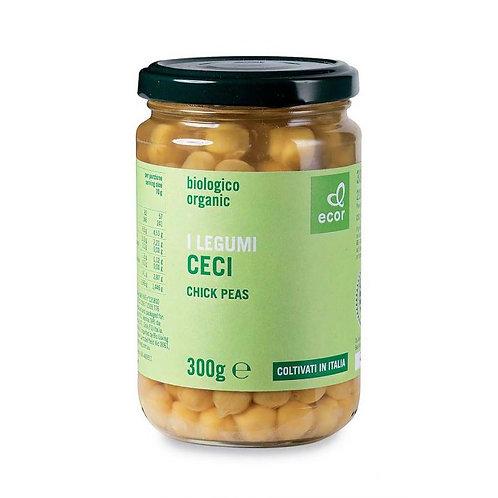 Chickpeas in Brine 300g Ecor