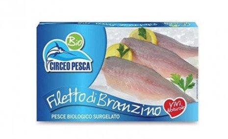 Frozen Sea Bass Fillets 250g