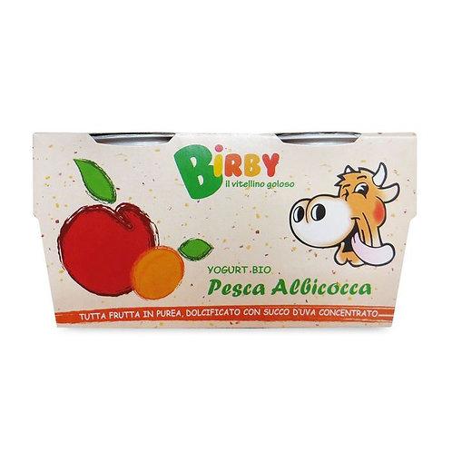 Yoghurt Birby Peach & Apricot 2x115g