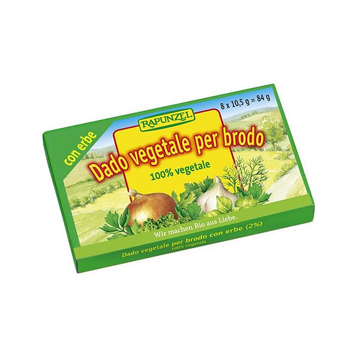 Vegetable Stock Cube with Herbs 84g