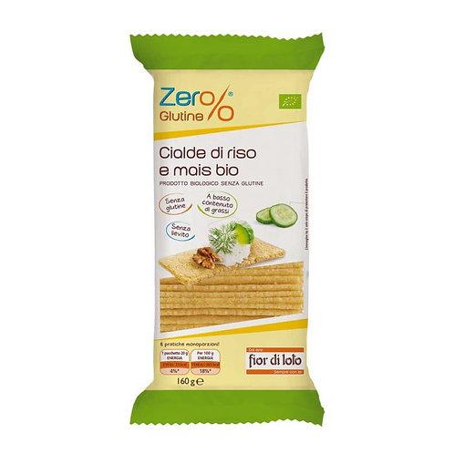 Gluten-Free Rice & Corn Crispbread 160g